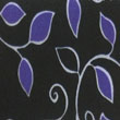 Color 0090 estampado hojas lilas