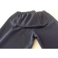 Pantalón chandal adaptado totalmente abierto en el culote