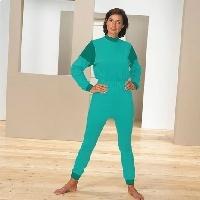 Pijama unisex de punto con cremallera