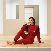 Pijama unisex en rizo con cremallera