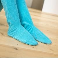 Pijama unisex en rizo con cremallera y pie
