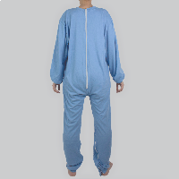Mono adaptado para dormir manga larga hombre