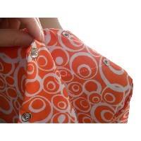 Vestido adaptado manga corta con bolsillos