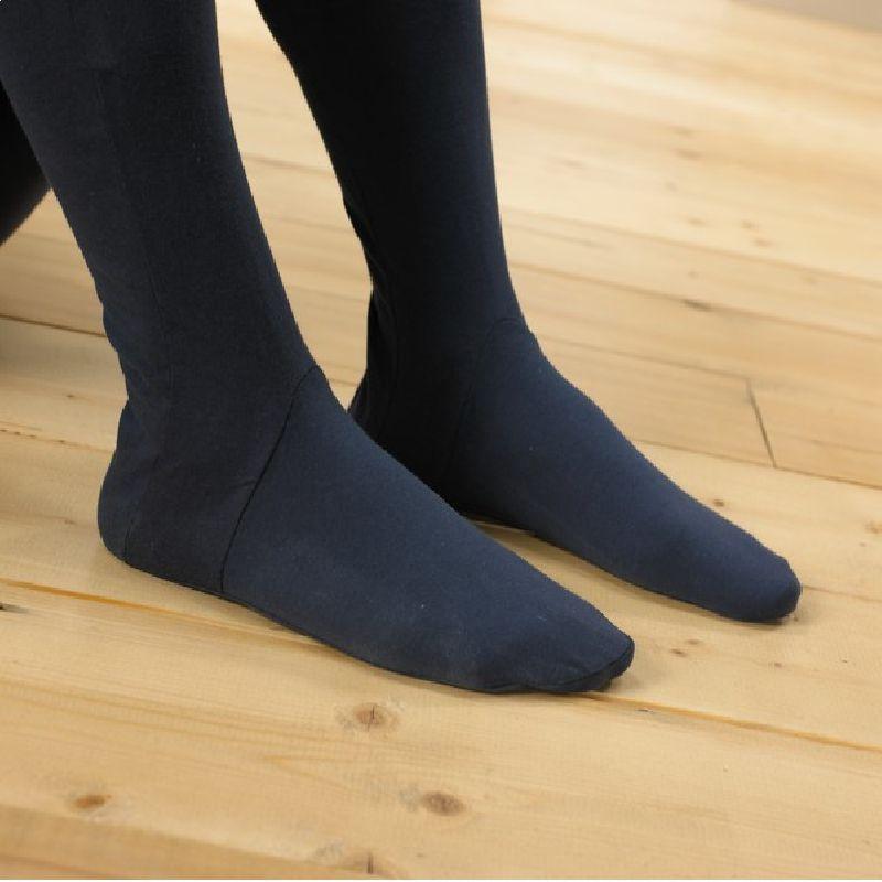 Pijama unisex de punto con cremallera y pie