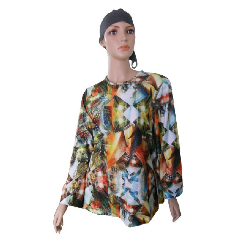 Blusa adaptada tipo camiseta de manga larga INVIERNO