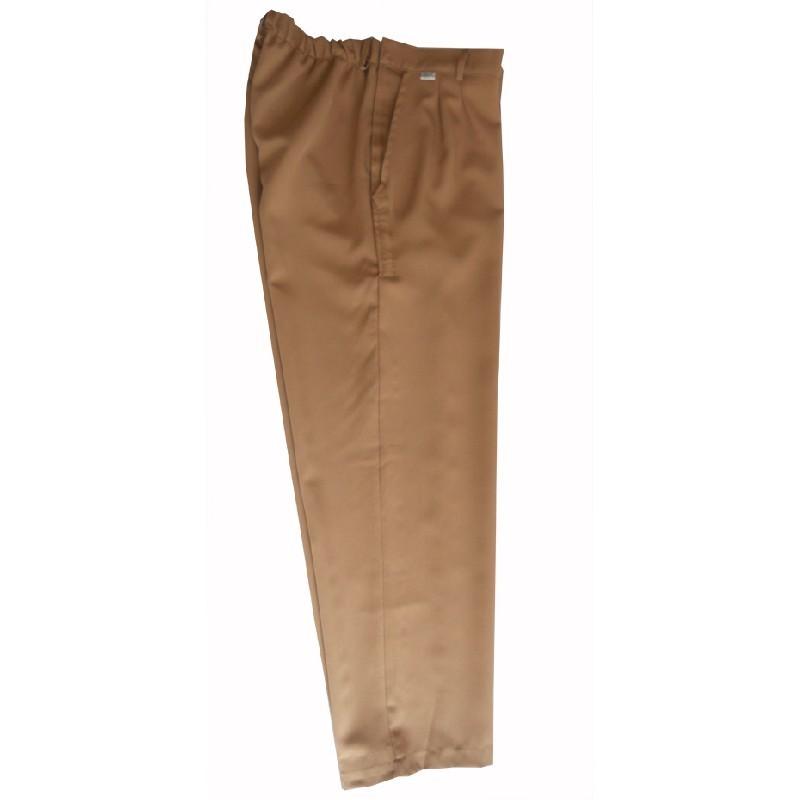 Pantalón de vestir adaptado velcro laterales hombre