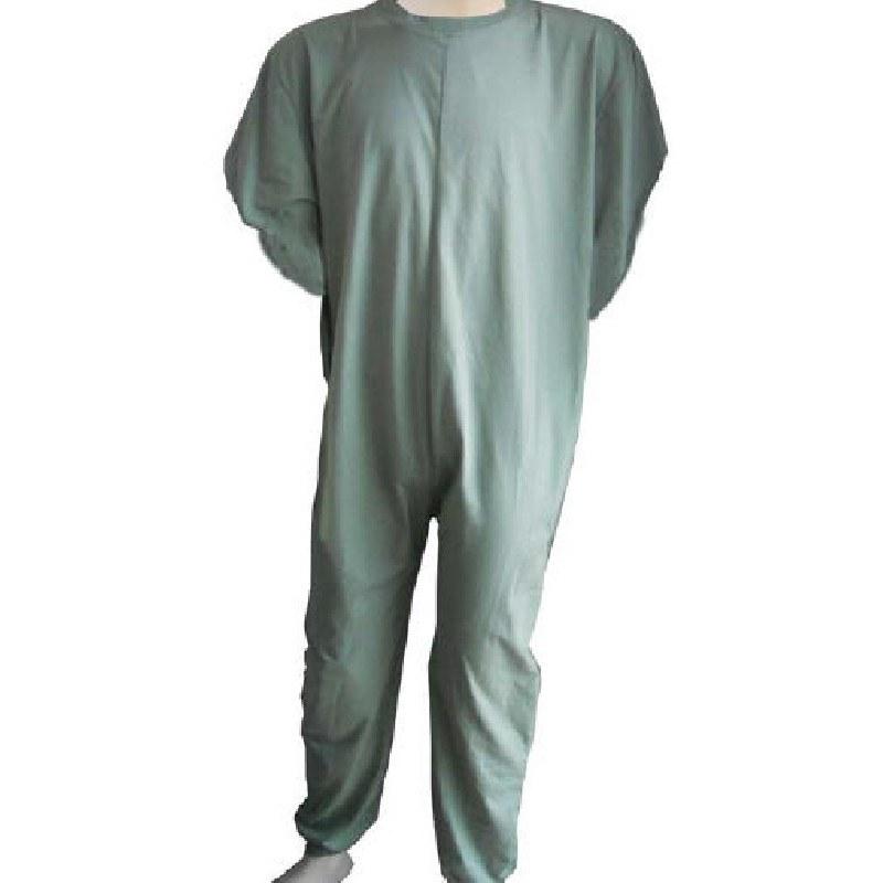 e943f947de Mono adaptado para dormir manga larga Hombre. Cremallera espalda