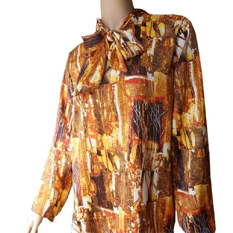 Blusa adaptada con lazada manga larga INVIERNO